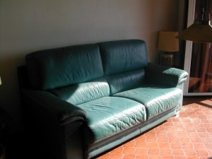Stage 5 - Sofa in its new home